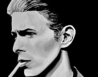 Pop Culture Portraits (Canvas paintings)