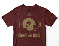 Texas State University - Brave and Bold TShirt - 2016