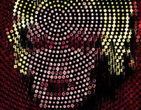 Marilyn Monroe - PunkArt - NFT