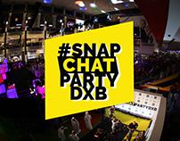 SnapchatPartyDXB   DubaiMall Event