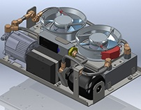 Developed self-contained liquid cooling systems