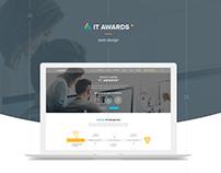 IT Awards - web site competition web design