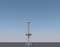 "Berlin Radio Tower ""Berliner Funkturm"" OLD WIP"