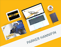 Parker Hannifin | Brochure + Website