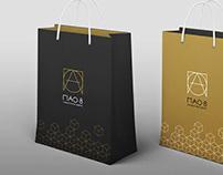 Brandbook PAO-8 / Logotype / logo design / branding