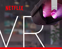 Netflix VR App Redesign Conception