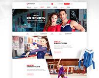 Gimnastyczny - Sports accessories and clothing