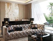 Master Bedroom in Qatar