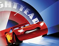 Pixar's Cars 3 artwork