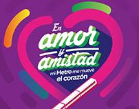 Amor y Amistad Metro de Medellín