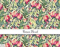Rimon Floral Textile Design