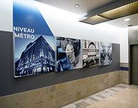 650, de Maisonneuve | Signalétique des étages