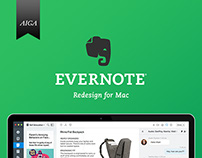 Evernote redesign, EC4 Animation