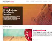 NonProfitExpert.com WordPress Redesign
