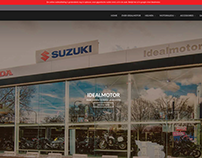Website Sneak Preview Ideal Motor Outlet Webshop