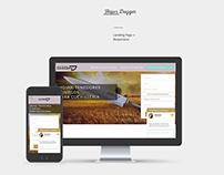 Hojas Dagger - Landing page