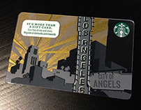 STARBUCKS LA CARD
