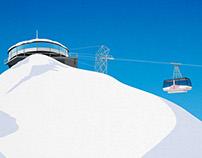Wengen Ski Poster
