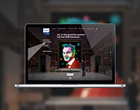 Philips | Rijksmuseum webdesign