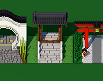 Asian Voxel Gates