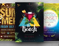 Summertime Flyer Bundle V2
