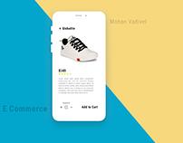 Minimal E-Commerce Interaction