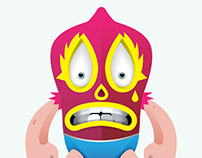 Game Characters Design (Los Luchadores)