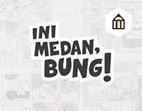 D&AD 2015 Pantone Project: Ini Medan, Bung!