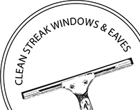 Clean Streak Windows Logo Design