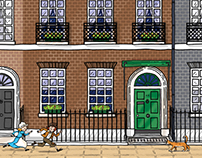 Illustrations for the Charles Dickens Museum