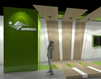 stand expozitional - SERVIER