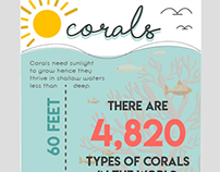 Corals infograph