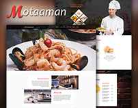 Motaaman - Multipurpose Restaurant PSD Template
