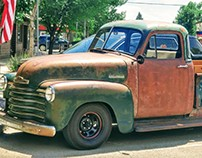 Old Montana Truck