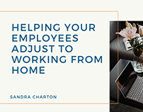 Sandra Charton   Helping Your Employees Adjust to WFH