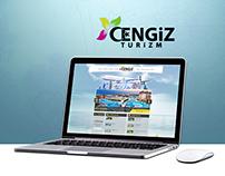 Cengiz Turızm Web Arayüz Tasarımı-Yazılım '2014