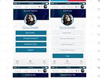 UX / UI Design. Franchise App