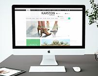Site e-commerce Karston