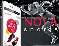 Nova Sports - Responsive Page Concept
