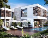 Modern Villa, Sobha Hartland, Duabi, UAE