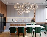 Kitchen - living-room