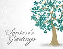 Season's Greeting Card Design