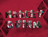 Harley Quinn - Suicide Squad Lettering