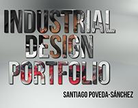 Industrial Design Portfolio. Santiago Poveda-Sanchez