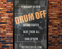 Poster serie Drum off