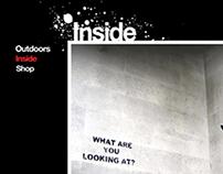 Banksy  (Web Design)