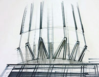 architectural sketching | graphics | SAVIN TOWER
