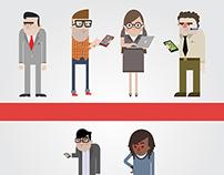 B2B Sales Characters