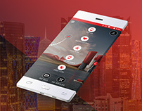 Ooredoo Qatar Mobile App concept