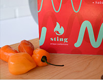 Sting Peppers Packaging
